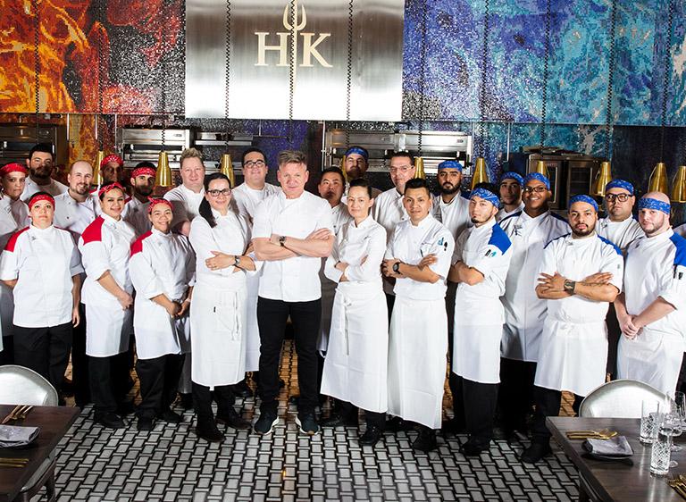 Hell's Kitchen at Caesars Palace