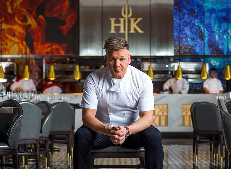 Gordan Ramsay Hell's Kitchen