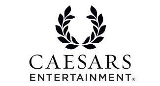Caesars Entertainment White Logo
